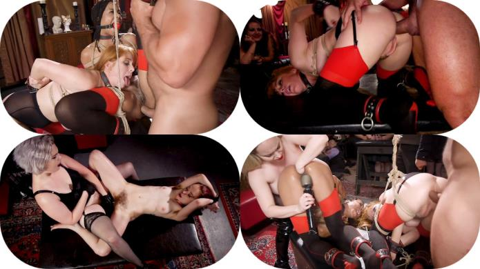 BDSM Swinger Orgy Served by the Anal Servant Girls / Aiden Starr, Kira Noir, Ramon Nomar, Penny Pax / 12-01-2019 [SD/540p/MP4/758 MB] by XnotX