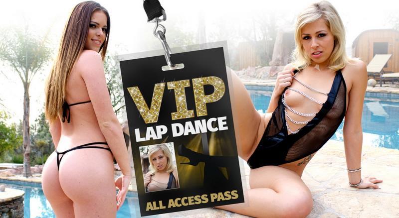 Jenna Jay, Zoey Monroe - VIP Lap Dance (WankzVR) [FullHD 1600p]