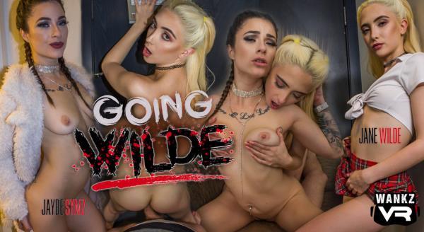 Jane Wilde, Jayde Symz - Going Wilde [FullHD 1080p] 2019