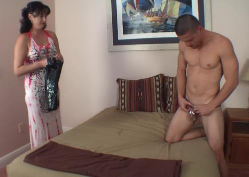 Unknown - COCK TEASED IN CHASTITY (FullHD)