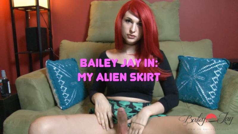 Bailey Jay: My Alien Skirt (HD / 720p / 2019) [TS-BaileyJay]