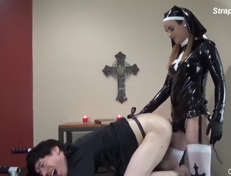 Clips4Sale: Amateur Nun and Strapon [HD 720p]