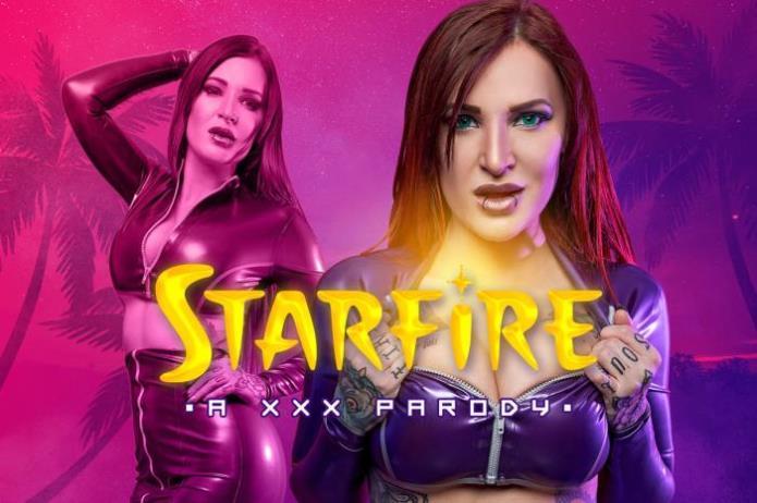 Starfire A XXX Parody / Alexxa Vice / 15-01-2019 [3D/UltraHD 4K/2700p/MP4/10.5 GB] by XnotX