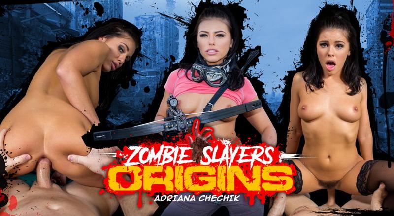 Adriana Chechik: Zombie Slayers: Origins (FullHD / 1080p / 2019) [WankzVR]