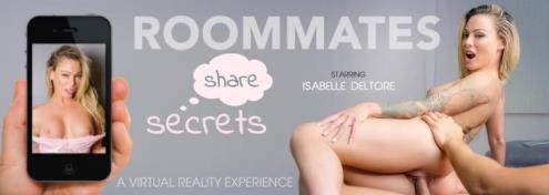 Isabelle Deltore - Roommates Share Secrets (05.01.2019/VRBangers.com/3D/VR/UltraHD 4K/3072p)