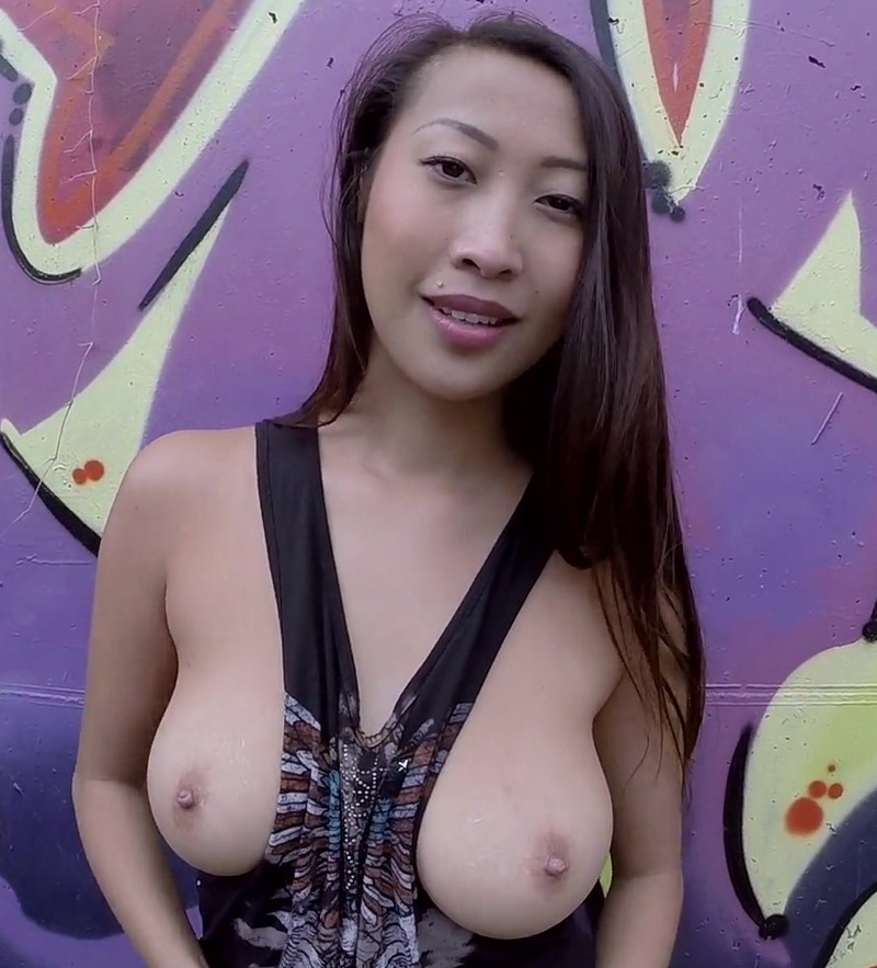 Sharon Lee: Big Booty Asian anal banged in public (FullHD / 1080p / 2019) [BangBros]