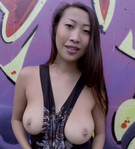 Sharon Lee - Big Booty Asian anal banged in public (2014/FullHD)