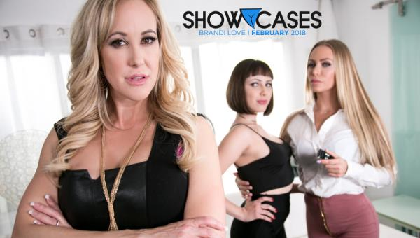 GirlsWay.com - Brandi Love, Jenna Sativa, Nicole Aniston - Showcases: Brandi Love - 2 Scenes In 1 [FullHD 1080p]
