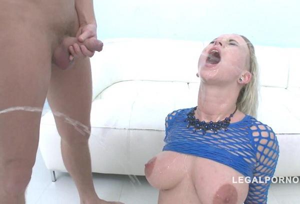 Licky Lex - Piss drinking slut Licky Lex got DAP'ed (2019/SD)