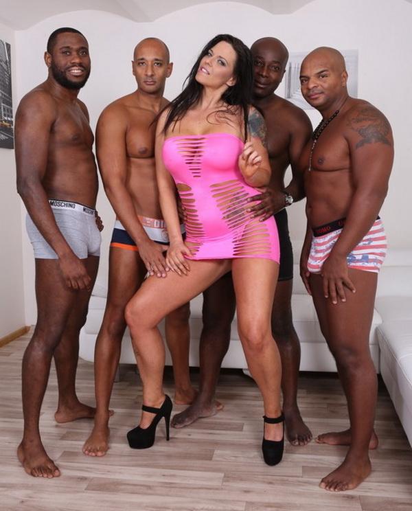 LegalPorno: Simony Diamond, Joachim Kessef, Tony Brooklyn, Max Rajoy, Darnell Black Comes to receive black cocks in all her holes IV190 [HD 720p]