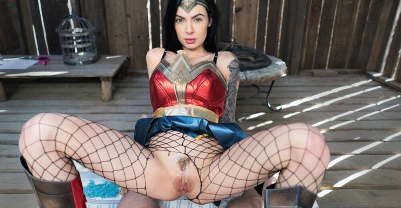 Marley Brinx: Wonder Woman A XXX Parody (FullHD / 1080p / 2019) [VRbangers]