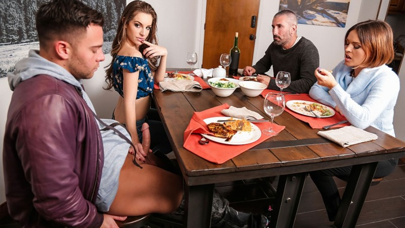 Kimmy Granger, Krissy Lynn: My Daughters New Boyfriend (SD / 480p / 2019) [RealityKings]