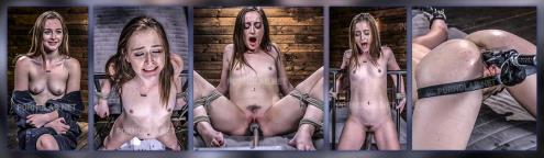 Danni Rivers - Petite Slut Danni Rivers Gets Machine fucked in Bondage (18.02.2019/FuckingMachines.com, Kink.com/HD/720p)