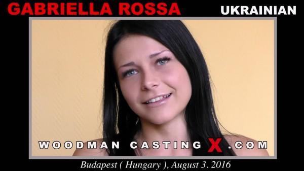 Gabriella Rossa aka Gabriella Ross - Casting X 165 [WoodmanCastingX] 2019