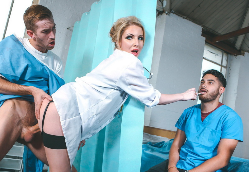Georgie Lyall: Mouth To Dick Resuscitation (HD / 720p / 2019) [DigitalPlayground]