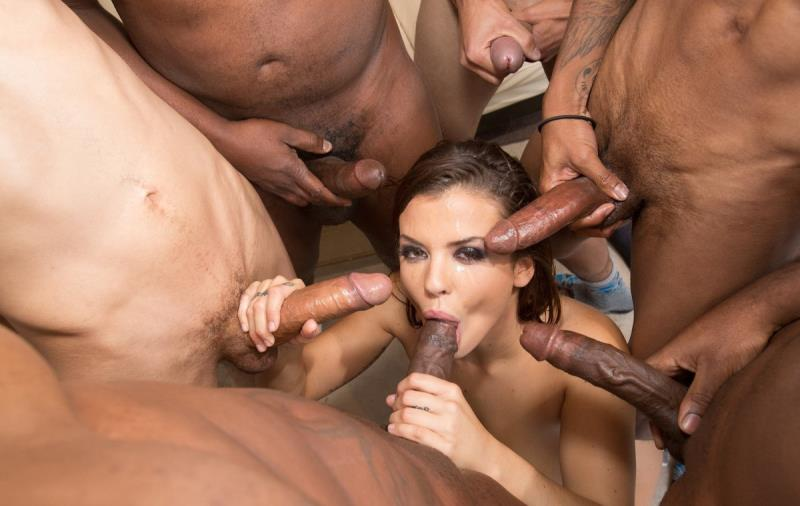 Keisha Grey - Keisha Grey Gets Her Ass Full Of Lex And A Face Full Of Icing From His Friends [JulesJordan] 2019