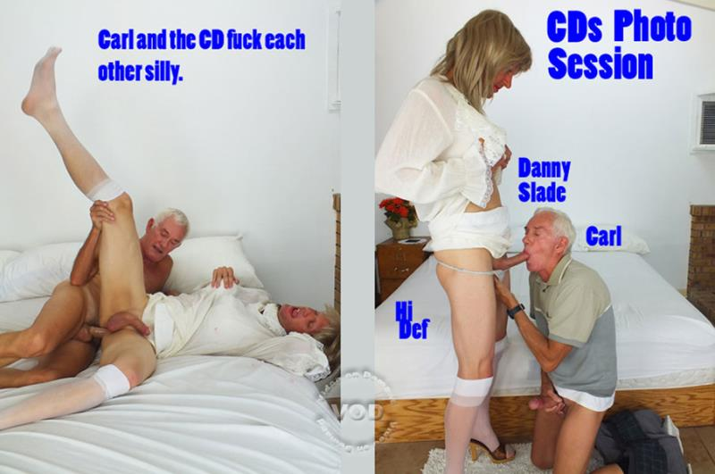Carl Hubay, Danny Slade - CDs Photo Session (HotClitsVideo) [SD 480p]