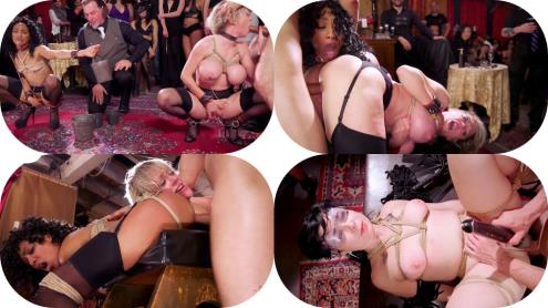 Nikki Darling, Donny Sins, Dee Williams - Well Trained Anal Sluts Service Folsom Orgy (09.02.2019/TheUpperFloor.com, Kink.com/HD/720p)