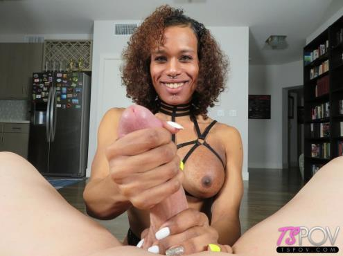 Pink Ivy - Exotic Trans Latina Gets Glazed (21.02.2019/TsPov.com/FullHD/1080p)