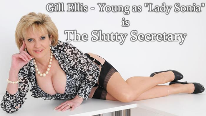 Lady Sonia - The Slutty Secretary (HD 720p) - Lady-Sonia - [2019]