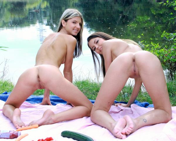 Gina Gerson, Cindy Shine - Gina Gerson, Cindy Shine assfucked on a picnic by the lake SZ1470 [HD 720p] 2019