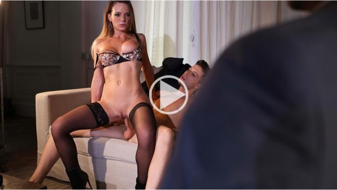Tiffany Leiddi gets fucked in front of her husband / Tiffany Leiddi / 26-02-2019 [FullHD/1080p/MP4/398 MB] by XnotX