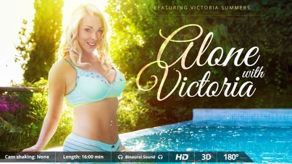 VirtualRealPorn.com - Victoria Summers - Alone with Victoria [UltraHD 2K 1600p]