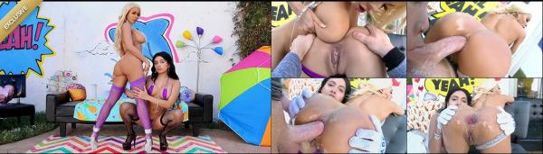 Aaliyah Hadid, Luna Star - Getting Nasty With Luna And Aaliyah (2019/HD)