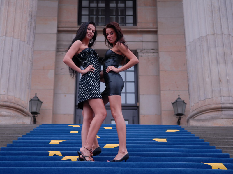 Klara S and Hana - Visit Berlin 2 (eroBerlin) [HD 720p]