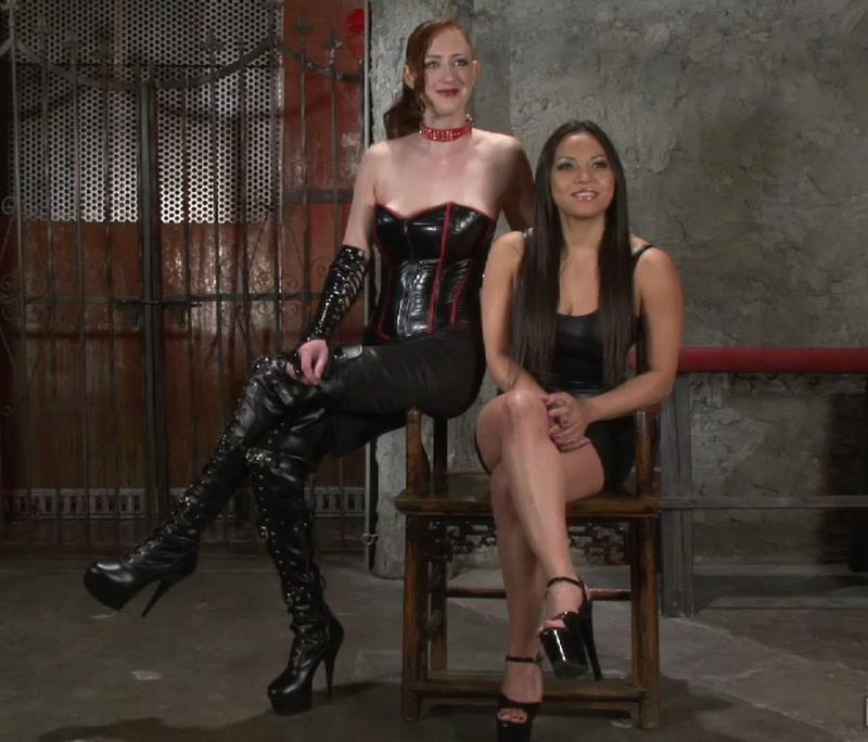Adrianna Luna, Holly Wood: This Slave Shall Cum! (HD / 720p / 2019) [SocietySM]
