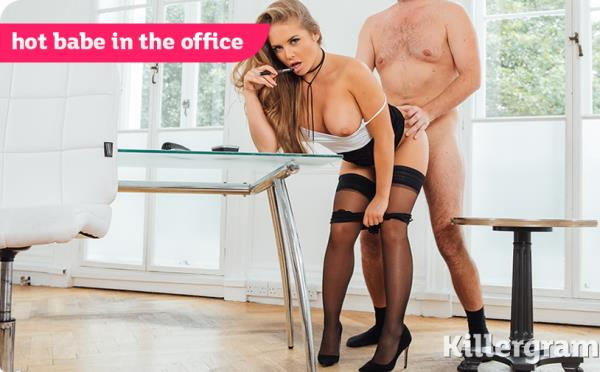 Alessandra Jane - Hot Babe In The Office [HD 720p] 2019