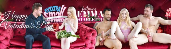 Valentines Day Double Dick Down / Emma Starletto / 14-02-2019 [HD/720p/MP4/1.83 GB] by XnotX