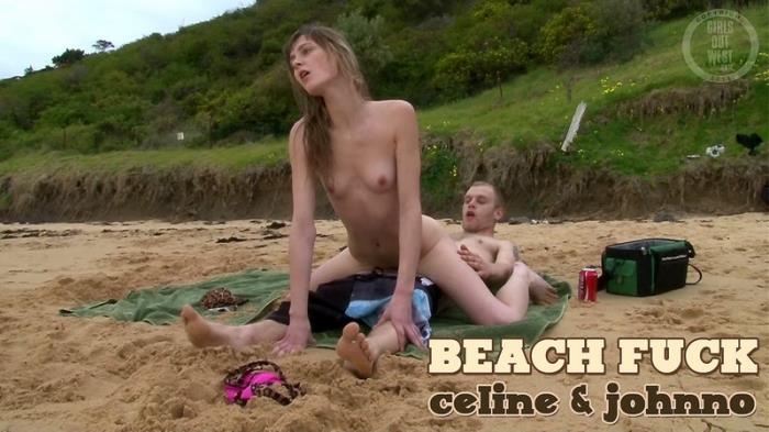 Celine - Beach Fuck (FullHD 1080p) - Girlsoutwest - [2019]