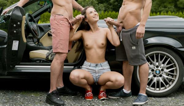 UltraFilms: Kristy Black - The Hottest Hitchhiking (FullHD) - 2019