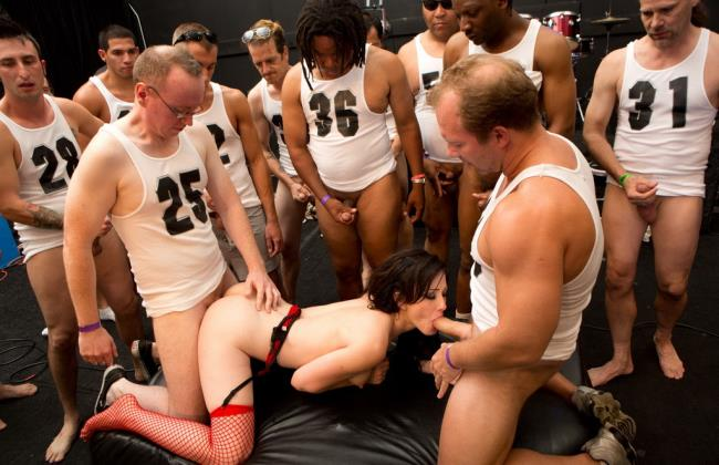 DevilsFilm.com - Jennifer White- 50 Guy Cream Pie 09 [2019 HD] (All Sex, Group Sex)