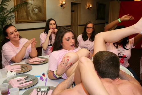 Amateur - Dick-Sucking Orgy For The Bride To Be (1008 MB)