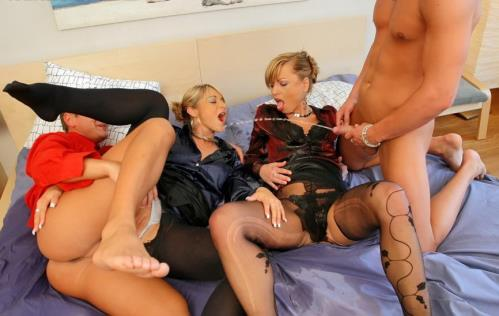 Chezch Girls - Pissing All Over Slutty Cheaters (SD)
