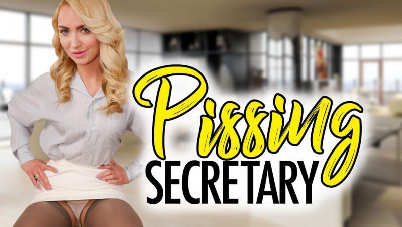 Victoria Puppy: Pissing Secretary (UltraHD 2K / 1380p / 2019) [StockingsVR]