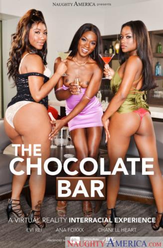 Ana Foxx, Chanell Heart, Evi Rei - The Chocolate Bar (10.03.2019/NaughtyAmerica.com/3D/VR/FullHD/1080p)