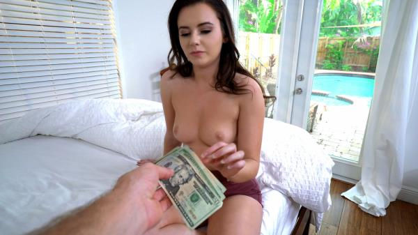 Mofos: Karlie Brooks - Shy Brunette Flashes Pussy (SD) - 2019