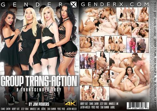 Chanel Santini, Jessy Dubai, Annabelle Lane, Aubrey Kate - Group Trans-Action [HD, 720p] [Genderx.com]