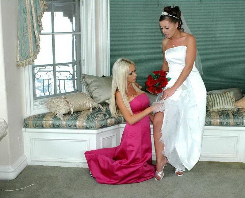 Nikki Benz, Penny Flame - The Wedding (NaughtyAmerica) [SD 540p]