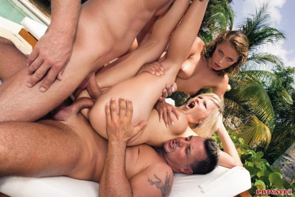 Kathy Campbell and Tarra White - Ultra Hardcore Foursome Starring Kathy Cam ...