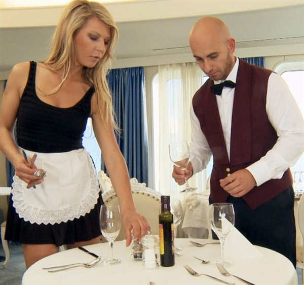 Kristi Lust - The Waiter and the Maid (Private) [FullHD 1080p]