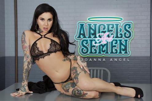 Joanna Angel - Angels and Semen (14.03.2019/BaDoinkVR.com/3D/VR/UltraHD 2K/1920p)