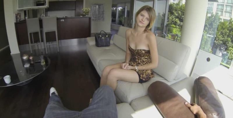 Scarlett - Slim bb casting (FuckingGlasses) [SD 540p]