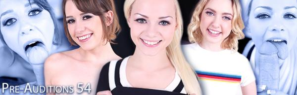 Elsa Jean, Chloe Couture, Zoey Laine - Pre-Auditions 54 (2019/FullHD)