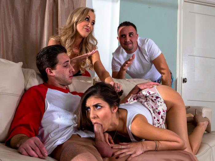 Brandi Love, Nina North - Sex Ed Abroad (SD 480p) - DigitalPlayground - [2019]