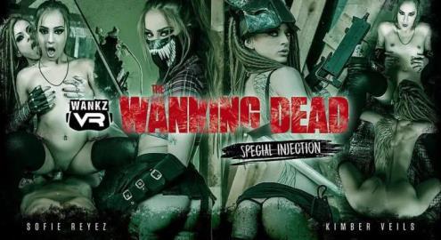 Kimber Veils, Sofie Reyez - The Wanking Dead: Special Injection (19.03.2019/WankzVR.com/3D/VR/UltraHD 4K/2300p)