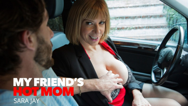 Sara Jay - Saras big tits attract her sons best friend [NaughtyAmerica] 2019